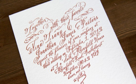 1x1.trans Nina + Johns DIY Letterpress Wedding Invitations