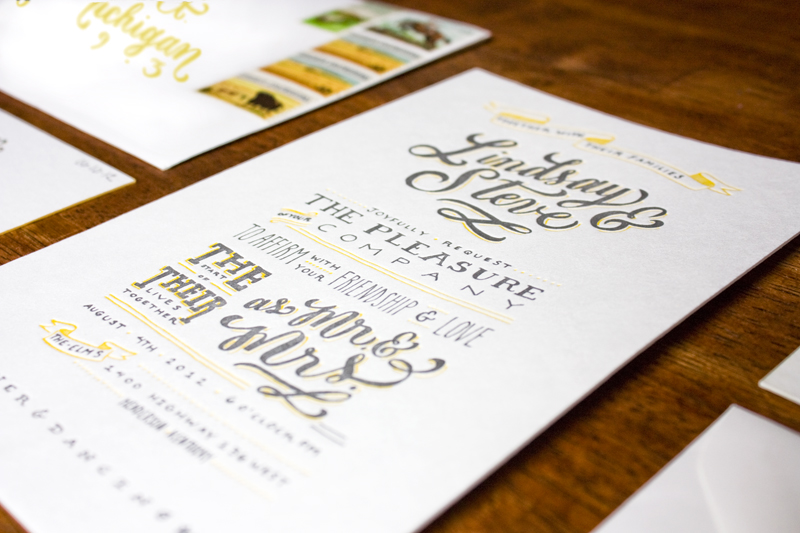 Hand Lettered Wedding Invitations By Molly Jacques Via Oh So Beautiful Paper 5
