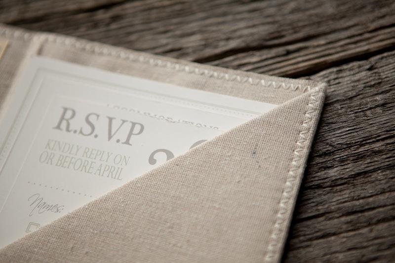 The Blue Envelope Wedding Invitations Via Oh So Beautiful Paper 4