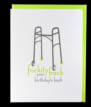 Stationery A Z Snarky Birthday Cards