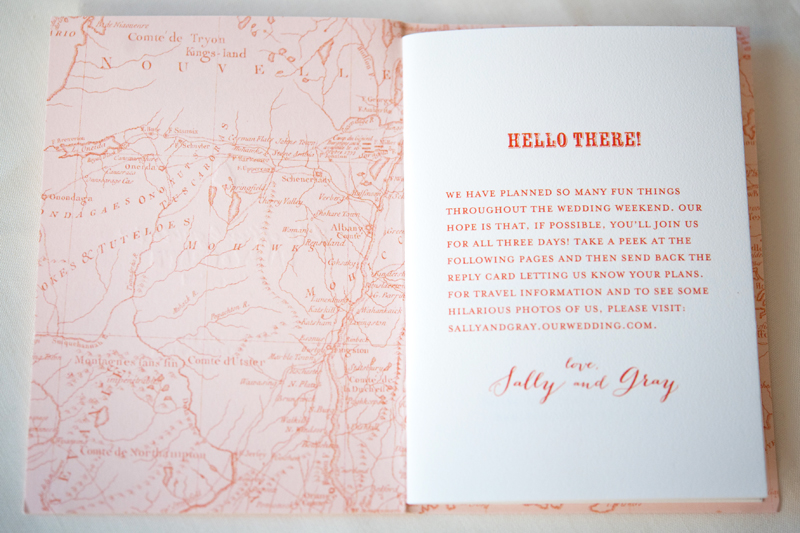 Map Travel Inspired Destination Wedding Invitations By Gus Ruby Letterpress Via Oh So Beautiful
