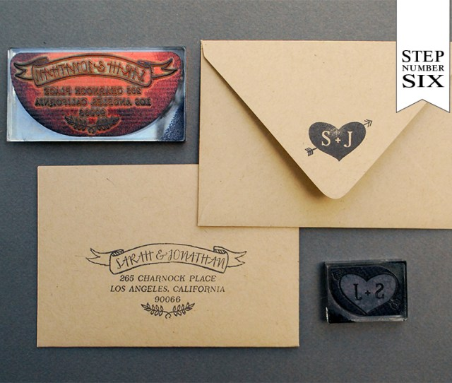 Diy Tutorial Neon And Kraft Paper Wedding Invitations By Antiquaria Via Oh So Beautiful Paper