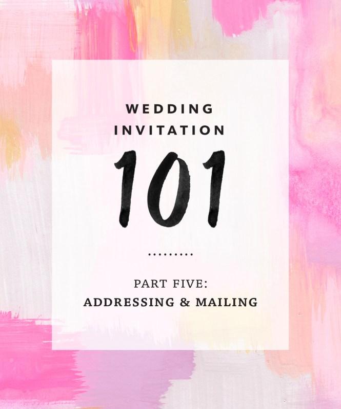 Wedding Invitations In Mailbox