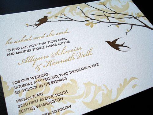 Wedding Invitations Love Es Invitation