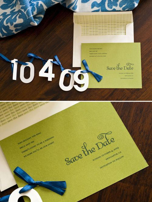Erica-Tory-Lime-Green-DIY-Save-the-Dates