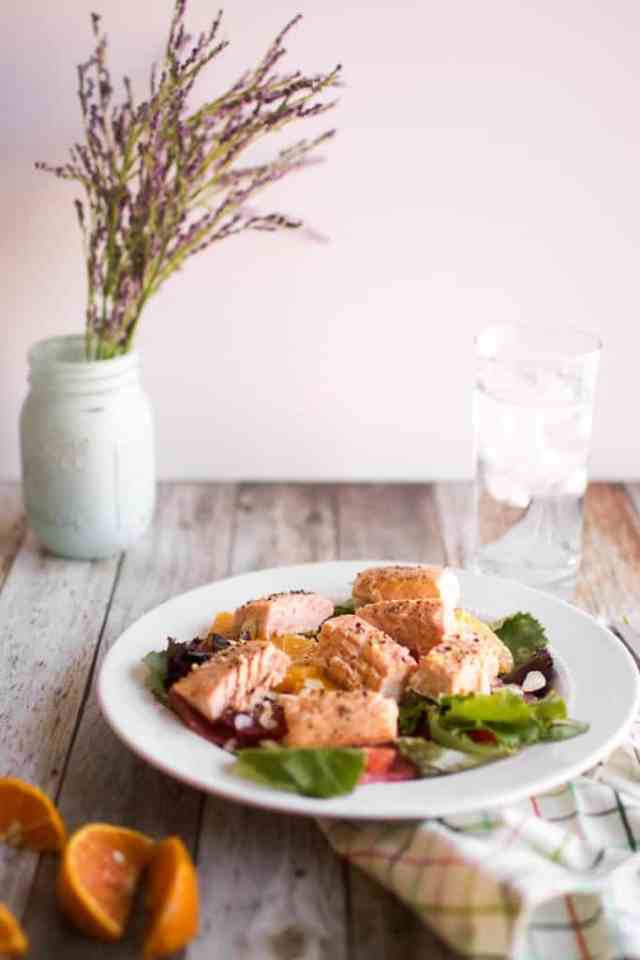 Salmon Citrus Salad
