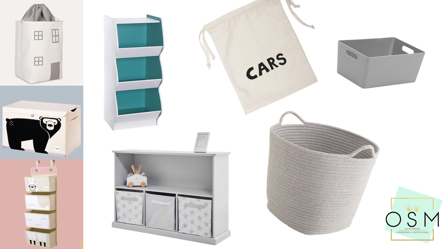 TOY STORAGE SOLUTIONS THAT LOOK GREAT!