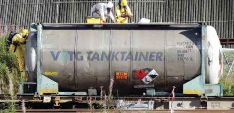 All hazardous material railcars