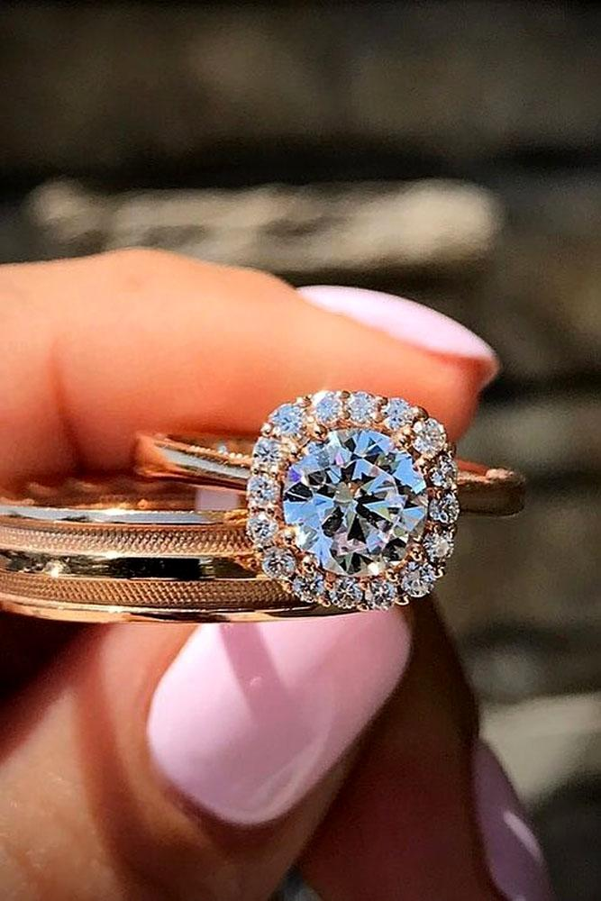 18 Rose Gold Engagement Rings By Famous Jewelers Oh So