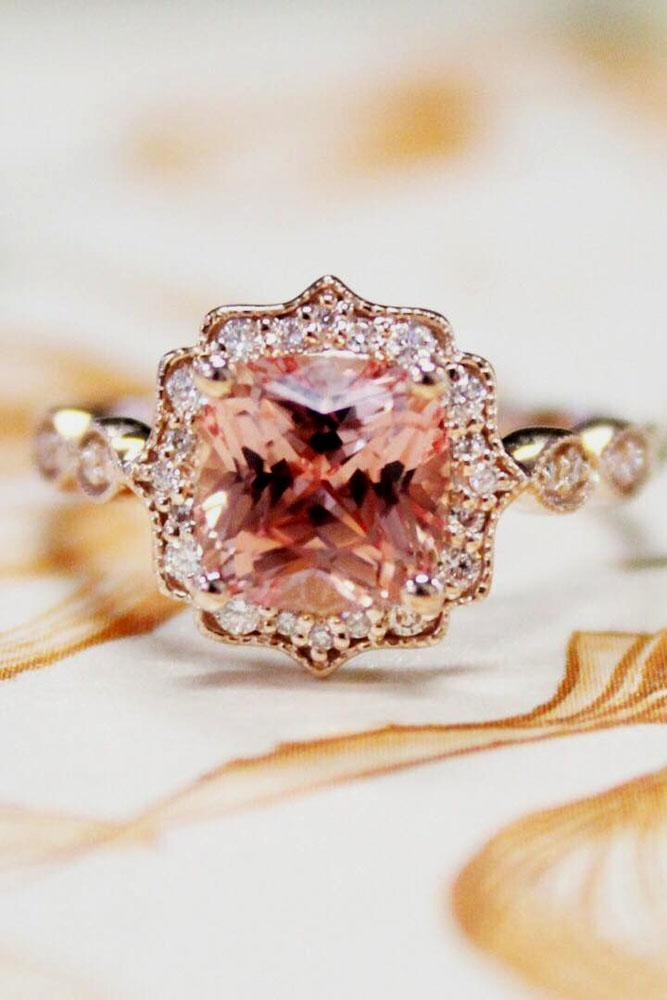 24 Sophisticated Vintage Engagement Rings To Prove Your Love Oh So Perfect Proposal