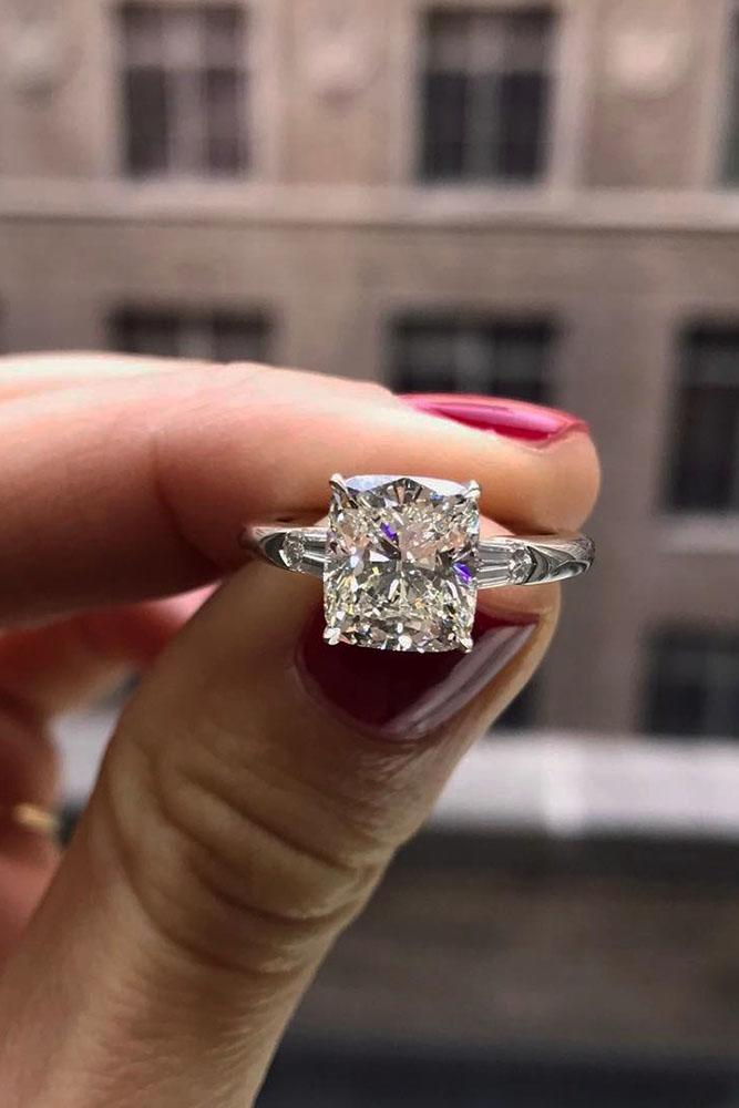 24 Perfect Solitaire Engagement Rings For Women Oh So