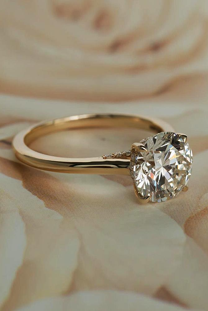 27 Simple Engagement Rings For Girls Who Love Classic Oh So Perfect Proposal