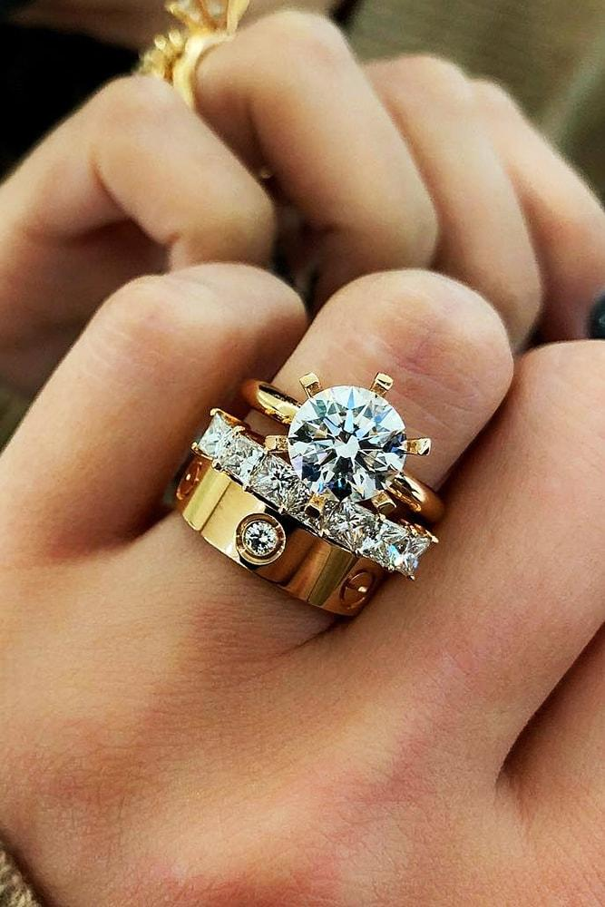24 Beautiful Wedding Ring Sets For Your Girl Oh So Perfect Proposal