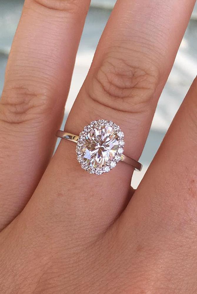 30 Moissanite Engagement Rings Fantastic Diamond