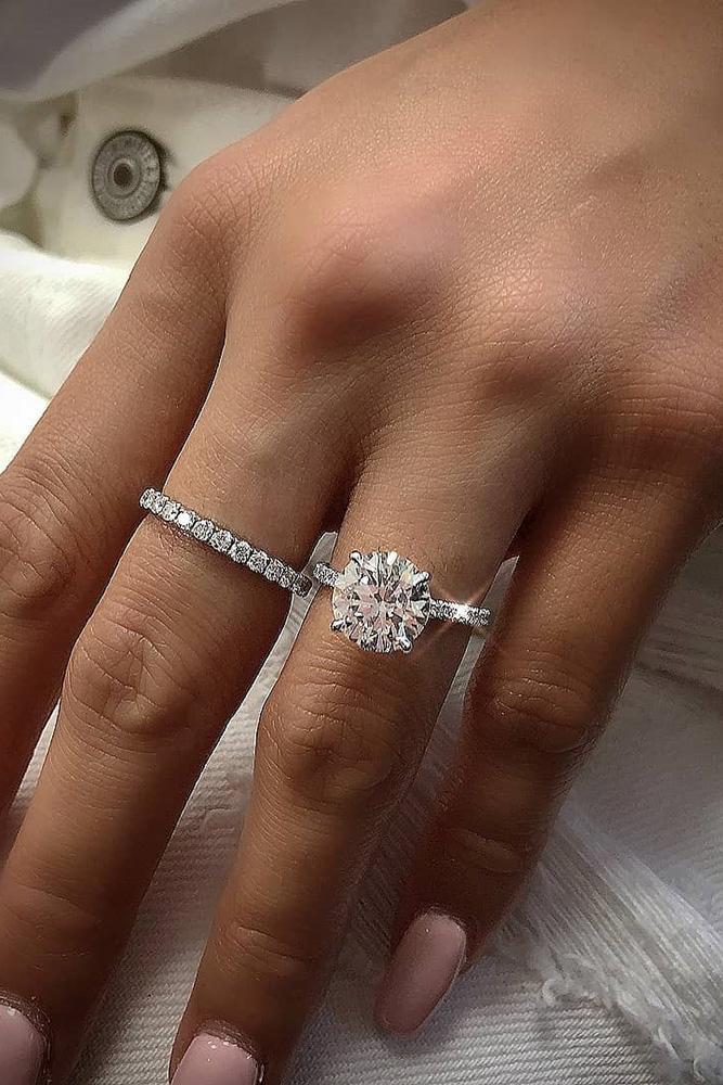 30 Uncommonly Beautiful Diamond Wedding Rings Voguehub Net