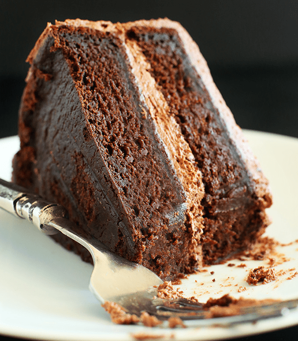 Back to school Vegan treats Chocolate Cake