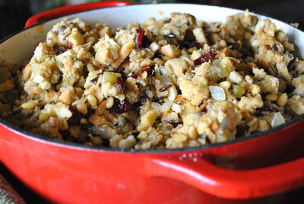 Homemade Vegan Stuffing