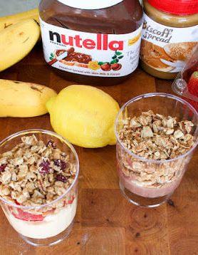 Yogurt Breakfast Parfaits