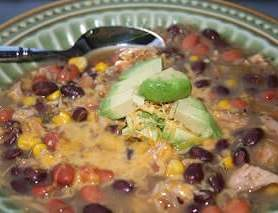 White Chicken Chili ohsweetbasil.com