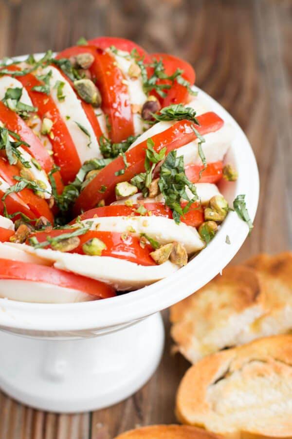 caprese salad ohsweetbasil.com