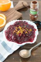 orange spiced cranberry sauce that's the best cranberry sauce ever and it only takes 15 minutes! ohsweetbasil.com