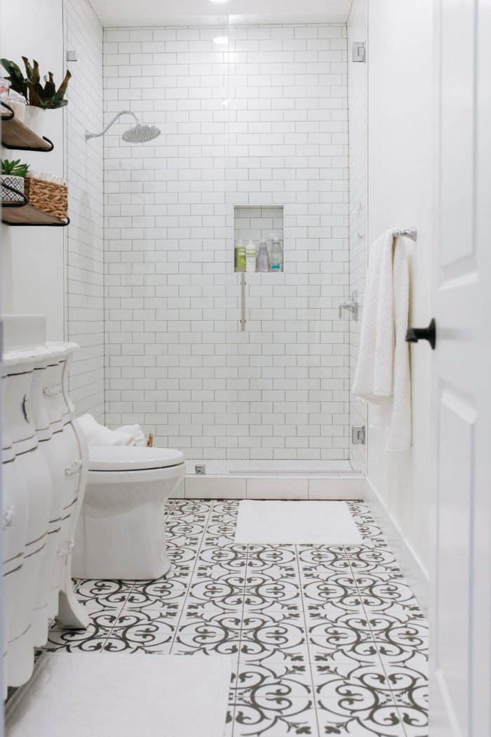 basement bathroom reveal and the best