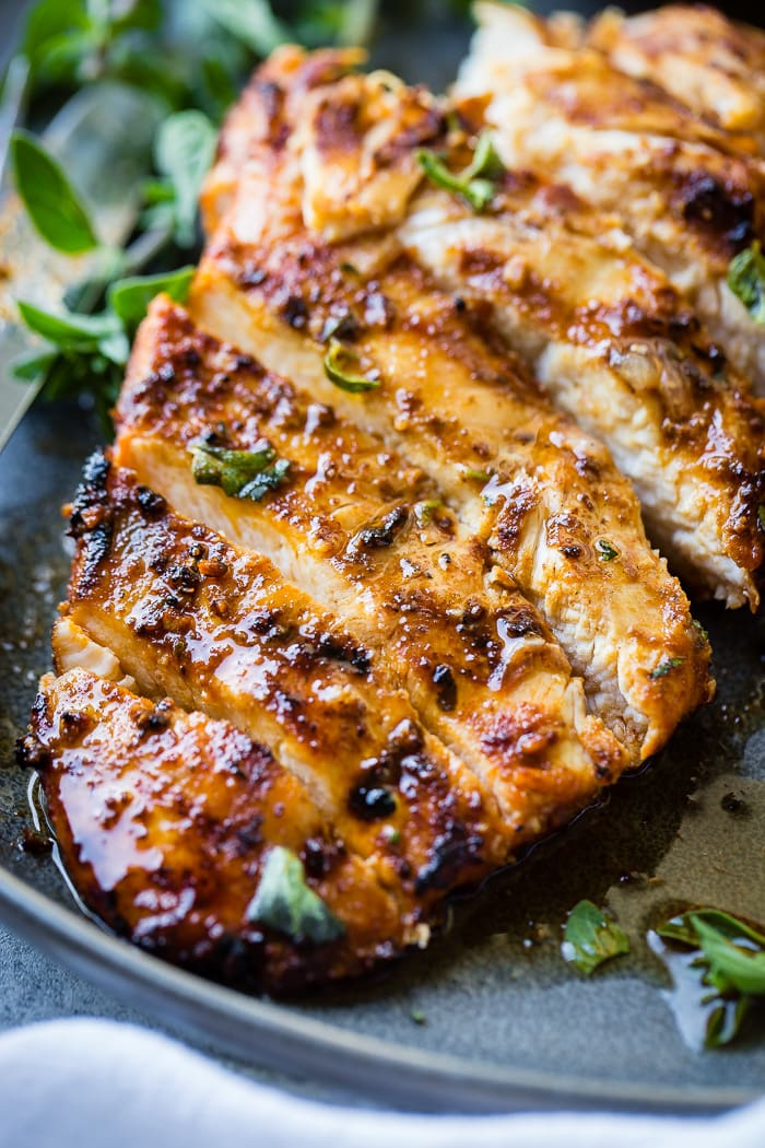 Quick Grilled Chicken with Oregano Recipe - Oh Sweet Basil