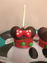 Disneyland Holiday Mickey and Minnie Cake Pops Disney Park Recipe