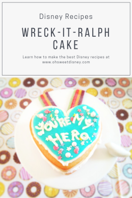 Disney Recipes: Wreck-It-Ralph Cake