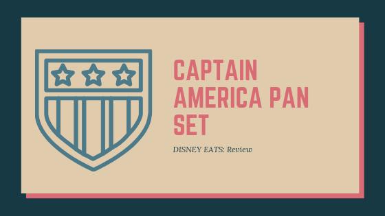 Captain America Pan Set
