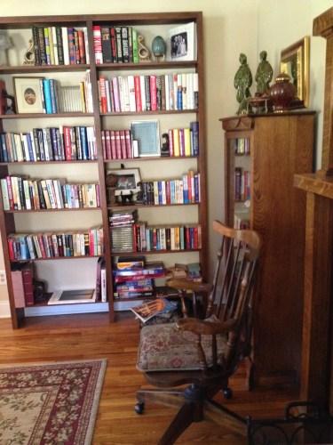 bookshelves GreenRose