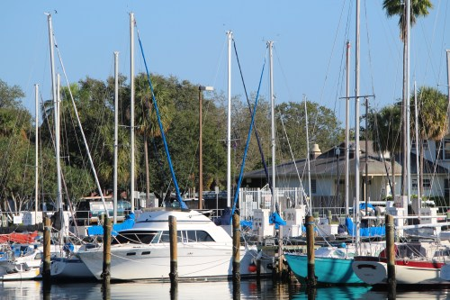 Boats at the Pier, St. Petersburg, FL