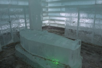 Icy resting place