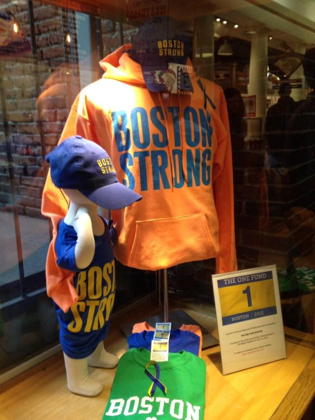 Boston Strong apparel