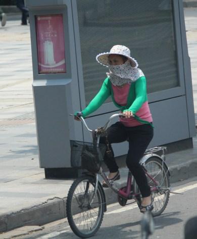 Precautionary biking