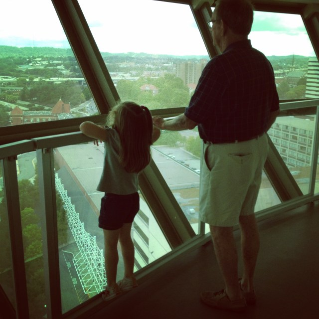View from the Sunsphere, Knoxville, TN