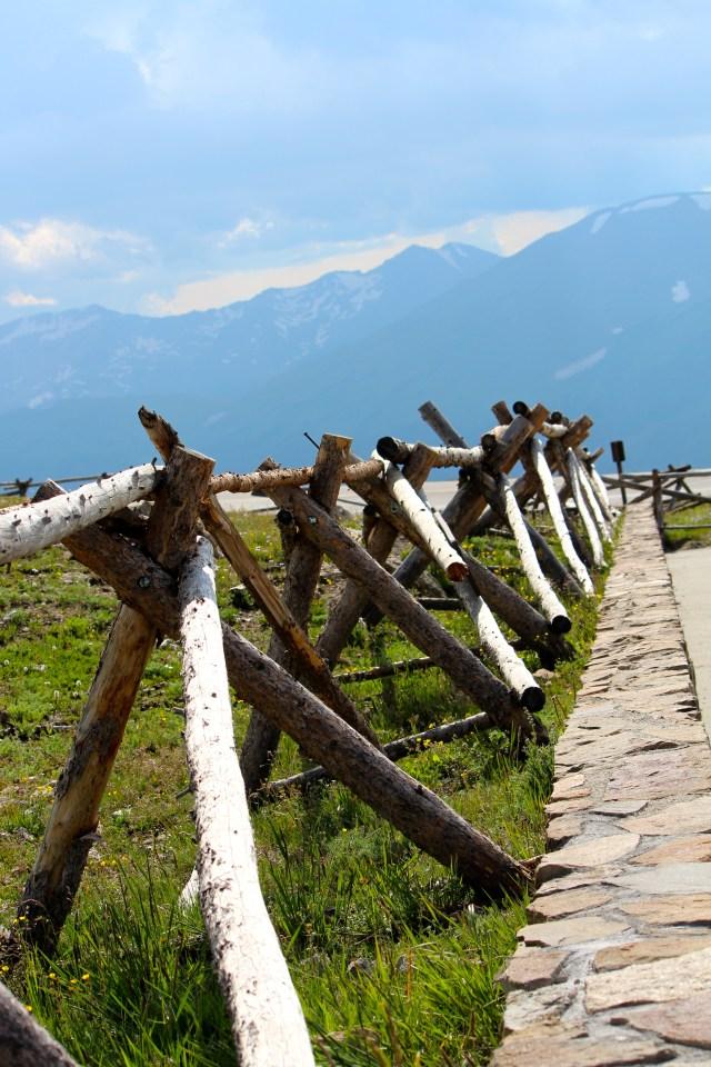 Jack Fence: Alpine Visitor Ctr
