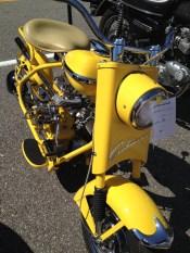 Yellow cycle caught my eye!