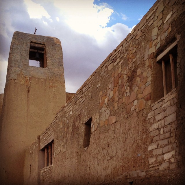 Ancient wall, Acoma Pueblo, New Mexico