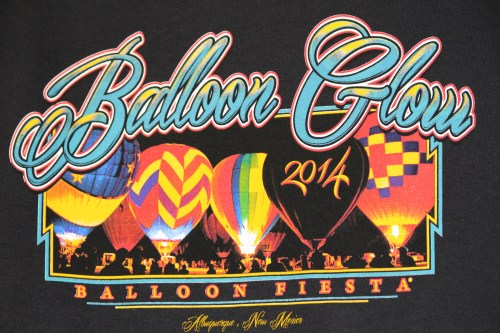 Since both afternoon/evening sessions we attended were called off, we never saw Balloon Glow -- a lineup of balloons all lit up at once! A t-shirt might be the next best thing!
