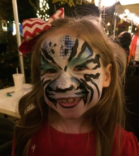 Final face -- snow leopard at Christmas in the City
