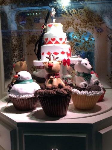 Cuteness on every cupcake: Lord & Taylor windows 2015.