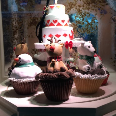 Cuteness on every cupcake: Lord & Taylor windows 2015.