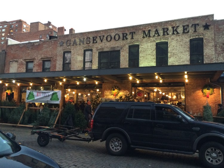 Traveling through the Meatpacking District of NYC to 99 Gansevoort Street, home of the Whitney Museum.