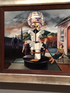 Light of the World by Peter Blume -- on view at Whitney Museum, NYC