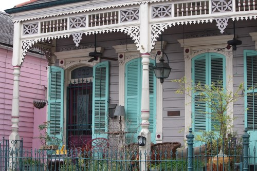 Shotgun house, New Orleans French Quarter