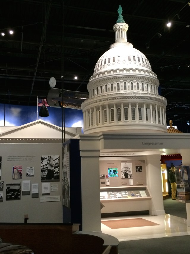 Exhibit on George Bush as Congressman