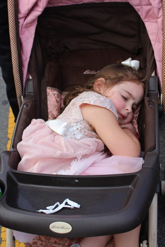 Sometimes even Main Street can't keep you awake!