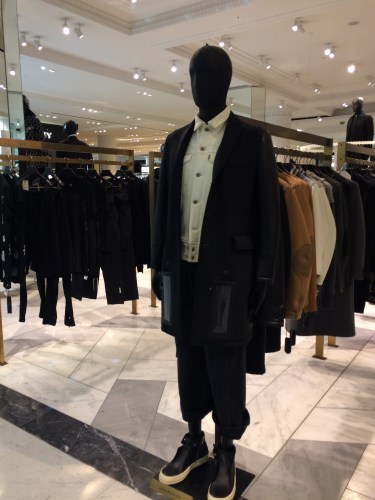 Menswear at Selfridges, London