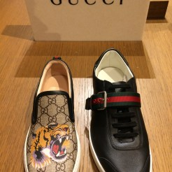 Conservative by comparison -- shoes from Gucci